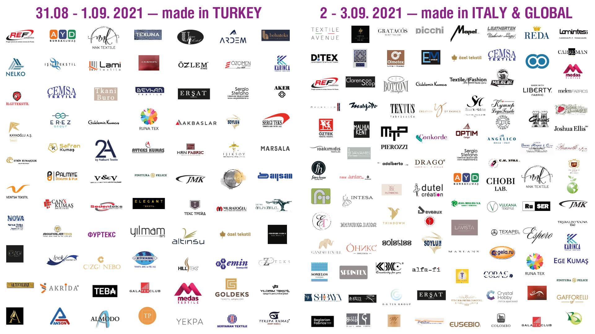 Textile Salon Katılımcıları